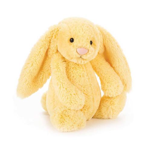 Buy Authentic Jellycat Bashful Bunny - Lemon yellow Medium