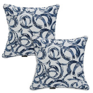 Water/Stain Guard Scatter Cushion - Ocean - Set of 2