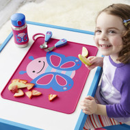 Skip Hop Fold & Go Silicone Placemat - Butterfly