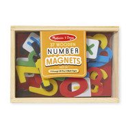 Melissa & Doug Numbers Magnets - 37 pieces