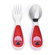 Skip Hop | Ladybug Zoo Fork & Spoon Utensil Set