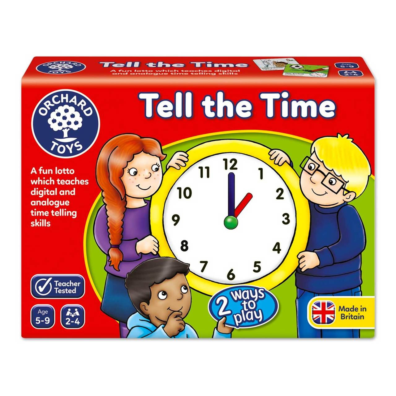 Telling time online games