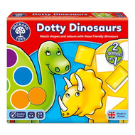 Orchard Toys Dotty Dinosaurs Shape & Colour Game