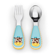 Buy Online Skip Hop Giraffe Zoo Fork & Spoon Set