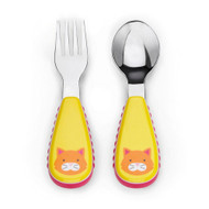Skip Hop Cat Fork & Spoon Utensil Set