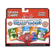 Water WOW! Splash Cards – Letters! Animals!