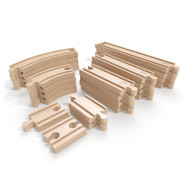 Hape Super Expansion 24 pieces Rail Pack