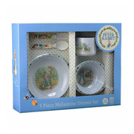 Peter Rabbit 5 Piece Toddler Dinner Set