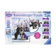 Ravensburger Disney Frozen Spot the Difference XXL Puzzle - 100pc