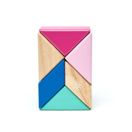 Tegu Magnetic Wooden Shapes - Blossom