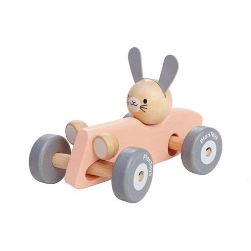 PlanToys Pastel Bunny Racing Car