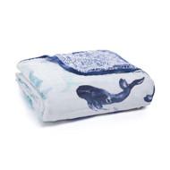 aden + anais muslin baby classic dream blanket - Seafaring