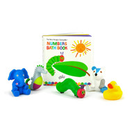 Very Hungry Caterpillar 5 Squirties Bath Toys & Book Set