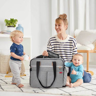 Skip Hop Duo Signature Weekender Diaper Bag