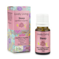 Buy Online Lively Living Pure Certified Organic Essential Oil - Sleep