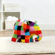 Elmer Patchwork Elephant Plush Soft Toy (20cm)