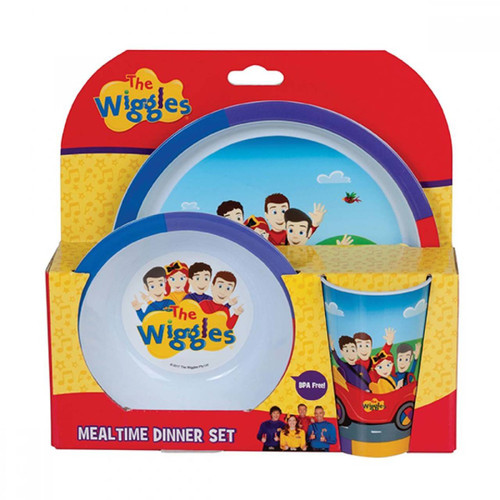 The Wiggles Mealtime Dinner Set