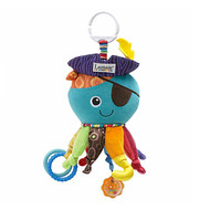 Lamaze Clip On Baby Activity Toy - Captain Calamari Octopus