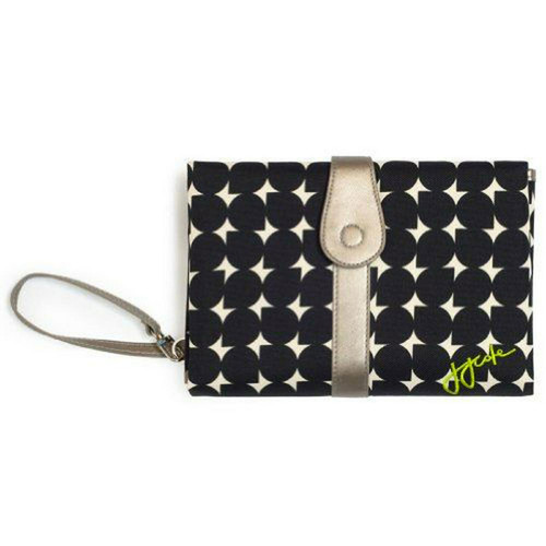 JJ Cole Baby Changing Clutch Mat - Silver Drop