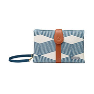 JJ Cole Changing Clutch Mat - Navy Twine