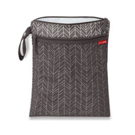 Skip Hop Grab & Go Wet/Dry Bag - Grey Feather