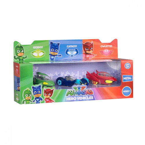PJ Masks Diecast Hero Vehicles