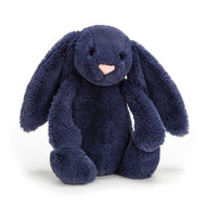 Buy Authentic Jellycat Bashful Bunny - Navy Medium