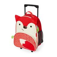 Skip Hop Kids Rolling Travel Luggage - Fox