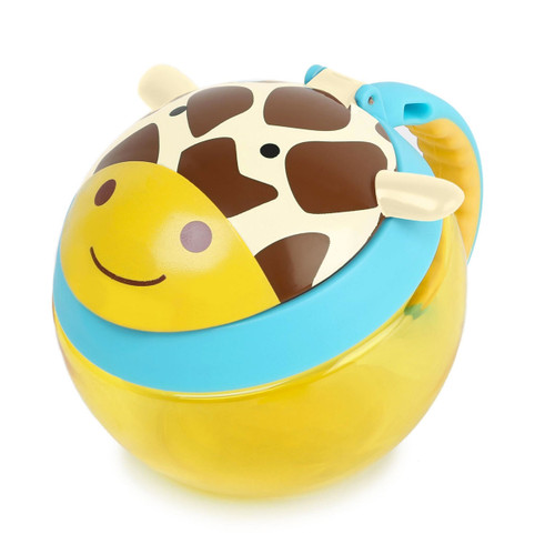 Skip Hop Zoo Snack Cup with Lid - Giraffe