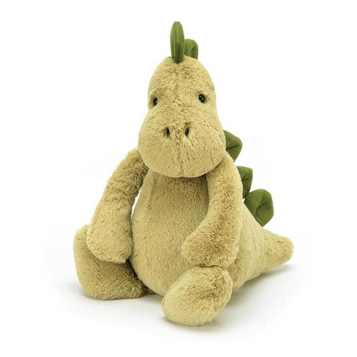 Jellycat Bashful Dino Plush Toy - Medium (31cm)