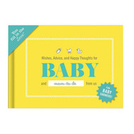 Knock Knock Fill In The Blanks - Wishes For Baby Book