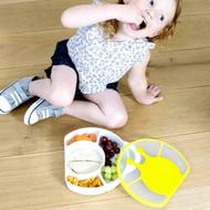 Boon Cargo Kids Snail Bento Lunch Box