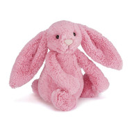 Authentic Jellycat Bashful Sorbet Pink Bunny - Medium