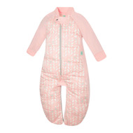 ergopouch Organic Sleep Suit Bag with Legs 2.5 tog - Spring Leaves