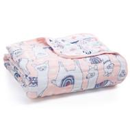 aden + anais muslin baby dream blanket - Llama