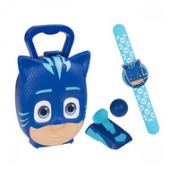 Catboy - PJ Masks Carry Case Snap Band, Ball Launcher Toy