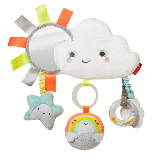 Skip Hop Silver Lining Cloud Stroller Bar Toy