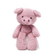 Gund Fuzzy 34cm Plush Toy - Pink Pig