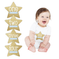 Pearhead First Year Star Baby Stickers
