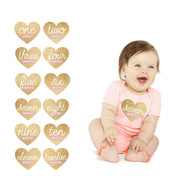 Pearhead First Year Glam Baby Stickers