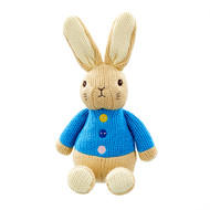 Beatrix Potter Peter Rabbit Knitted Toy