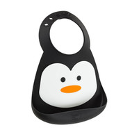 Make My Day Chill Out Penguin Silicone Bib