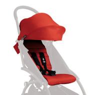 Babyzen Yoyo+ Plus Seat Pad Fabric & Canopy Pack - Red