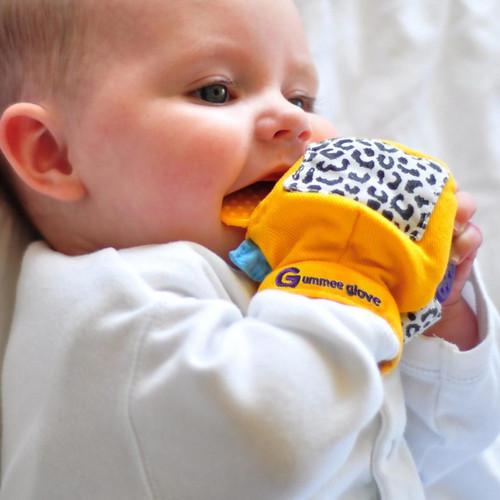 Buy Gummee Glove Teether Mitten - Yellow