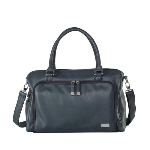 Isoki Double Zip Satchel Nappy Bag - Balmain (grey)
