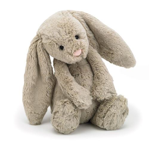 Jellycat Bashful Bunny Toy - Beige Medium