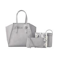 Isoki Easy Access Nappy Bag - Grey
