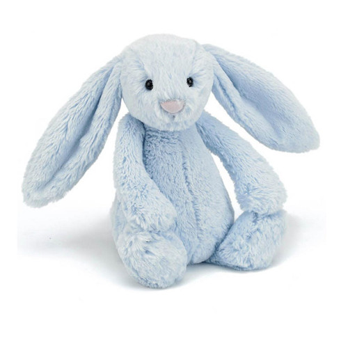 Buy Jellycat Bashful Bunny - Blue Medium (31cm)