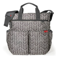 Buy Skip Hop Grey Feather Duo Diaper Bags Online