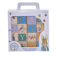 Beatrix Potter Peter Rabbit Wooden Learning Blocks Toy